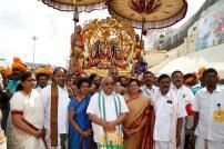1 Kalpavriksha Vahana Seva TTD Brahmotsavam