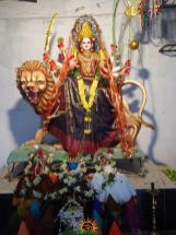 1 Lalitha Devi Alankaram in Navaratri of Sri Indraprastha Colony Temple