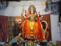 Annapurna Alankaram at Sri Indraprastha Colony Temple