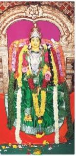 Balkampet Yellamma on 1st day of Navaratri