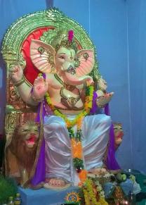 Bhaarath Ganesh mandal,Ashok road,Adilabad