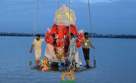 Ganesh Nimajjanam in Hyderabad 18