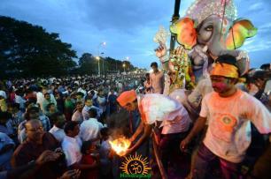 Ganesh Nimajjanam in Hyderabad 38