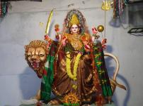 Gayatri Alankaram at Indraprastha Colony Temple 1
