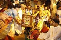Pedda Sesha Vahanam in TTD Brahmotsavam 11