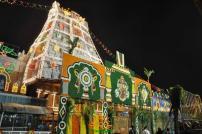 Pedda Sesha Vahanam in TTD Brahmotsavam 14