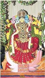 Ujjaini Mahankali Alankaram - Gayatri Alankaram Secunderabad