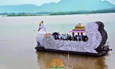 Vijayawada Teppotsavam on Dasara 3
