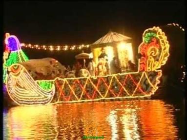 Vijayawada Teppotsavam on Dasara 5