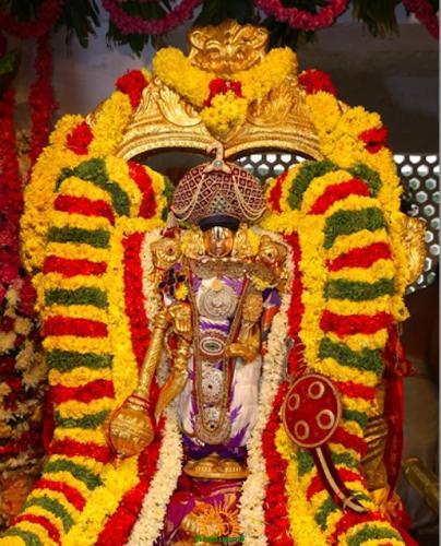 Pranaya Kalahotsavam in Tirumala Tirupati Temple