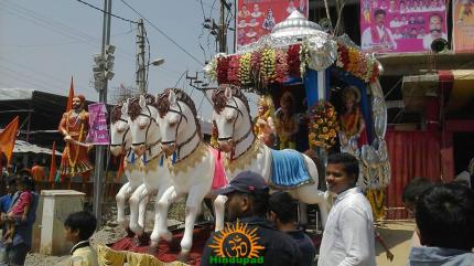 1 Hyderabad Ram Navami Shobha Yatra 2015