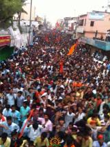 4 Hyderabad Ram Navami Shobha Yatra 2015