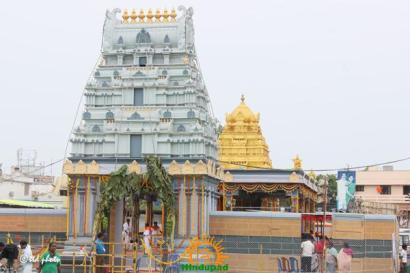 TTD Replica Temple at Rajahmundry Pushkaralu 1