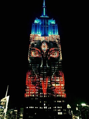 Goddess Kali on New York Empire State Building 1 no-watermark