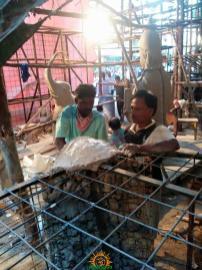 Making of Khairatabad Ganesh 2015 3