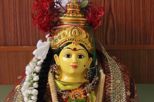 Varalakshmi Vratham Decoration design 10