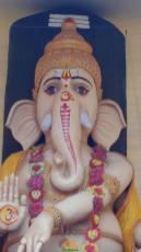 63 Feet Ganapathi at Ghantasala Music College Vijayawada