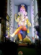 63 feet Vinayaka in Vijayawada 2015