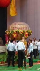 6300 kgs Laddu for Vijayawada Ganesha 2015