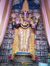 82 feet Gajuwaka Ganesh idol 1