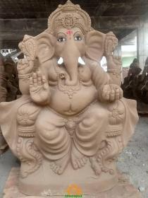 Clay Ganesha idol 5