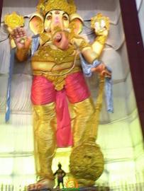 Gajuwaka 111 feet mammoth ganapathi idol