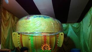 Gajuwaka Ganesh 8000 kgs Laddu