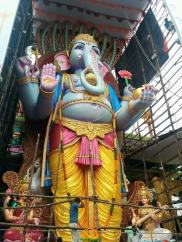 Trishaktimaya Moksha Ganapathi Khairatabad Ganesha 2015 7