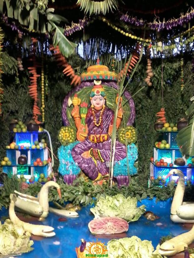 Shakambari Festival 2018 At Vijayawada Kanakadurga Temple