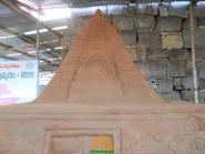 Alampur Sand Sculpture Krishna Pushkaralu