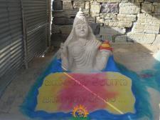 Jayajayahe Telangana Sand Sculpture