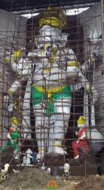 72 feet Ganesh in Vijaywada 2016 Dundi Ganapathi
