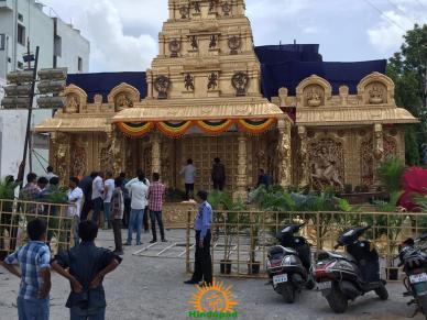 Balapur Ganesh 2016 setting 9