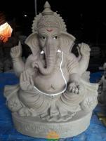 Clay Ganesha 2.5 feet