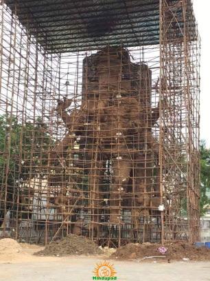 Dundi Ganesh Utsava Samithi Ganapathi Vijayawada 2016 1