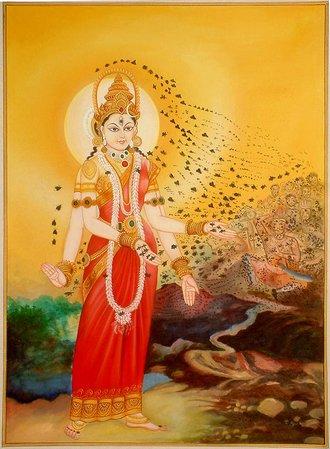 Bhramari_devi_goddess_of_the_black_bees