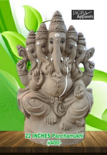 Big Clay Ganesha idol 2019 Hyderabad 13
