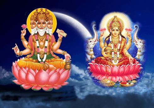 Brahma Loka Lord Brahma Saraswati