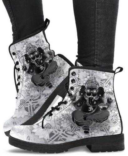 Ganesha Combat Boots by Utopik