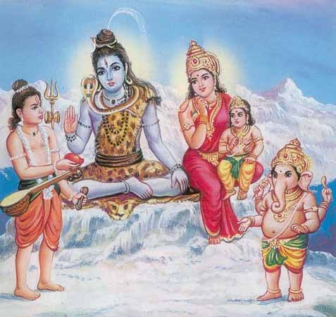 Ganesha Shiva Parvati Pradakshina no-watermark
