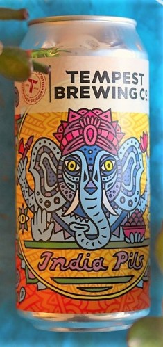 India Pils beer of Tempest Brewing no-watermark
