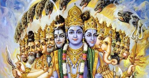 Krishna vishwaroopam vishnu