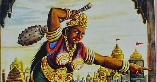 Lankini Ramayana Hanuman