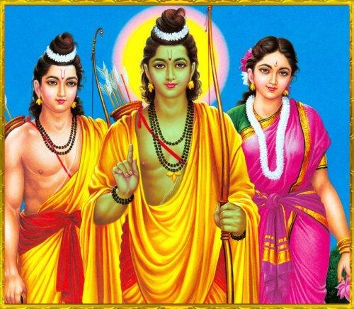 Rama Lakshman Janaki in Exile no-watermark