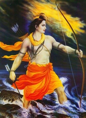 Sharanga bow of Lord Vishnu