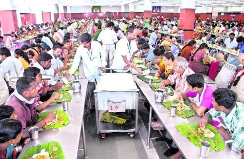 Social Service Activities Annadanam