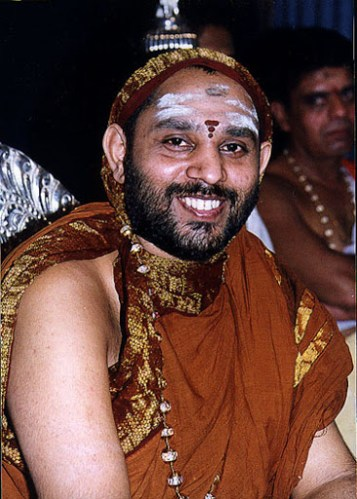 Sri Krishnananda Theertha Mahaswamigal Shakatapuram Shrividyapeetham Peetadhipathi