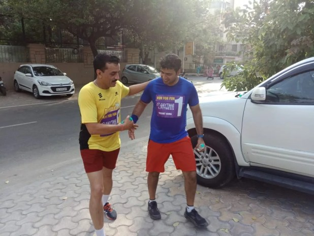 Any Time fitness Gym Vasantkunj Run For Fun