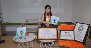 Meet Abhijita Gupta, the youngest writer in the country, at the age of just 7, many records were recorded