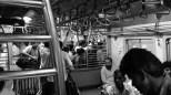Train crowd leaving